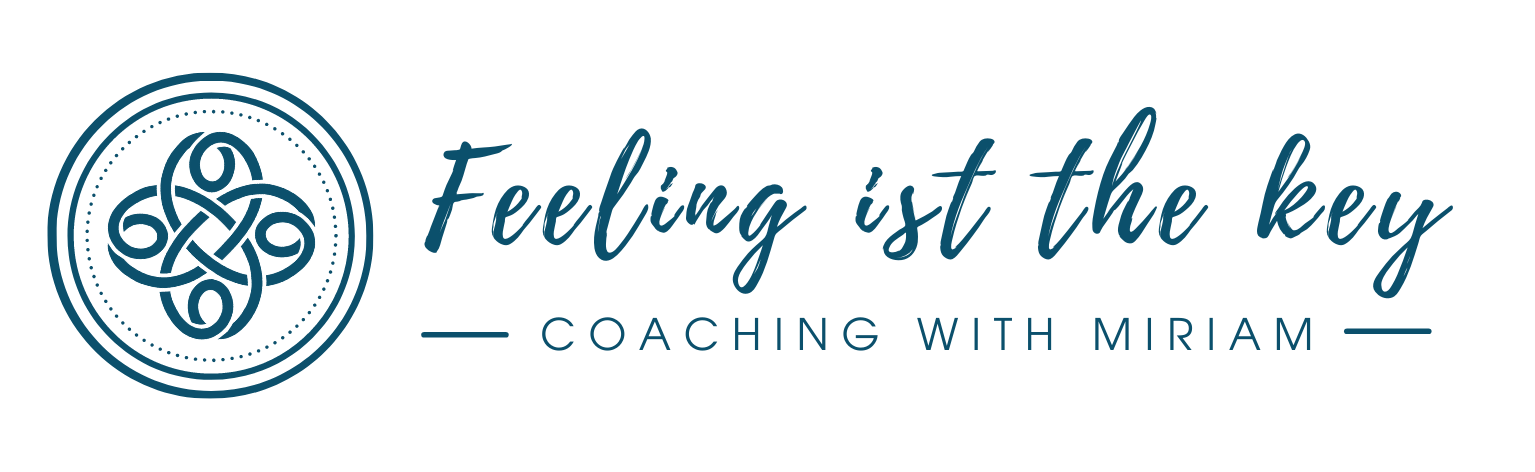 Logo from Feeling is the key - Coaching with Miriam
